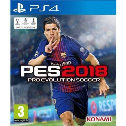Pro Evolution Soccer (PES) 2018 PS4