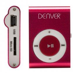MP3 afspiller m/clip (MicroSD) Pink - Denver