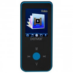 MP3/MP4 afspiller m/video (Bluetooth) Blå - Denver