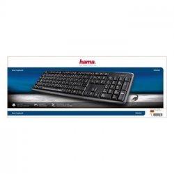 Hama Tastatur Verano - USB - Sort