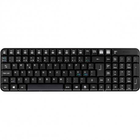 Trådløst tastatur - Sort DELTACO