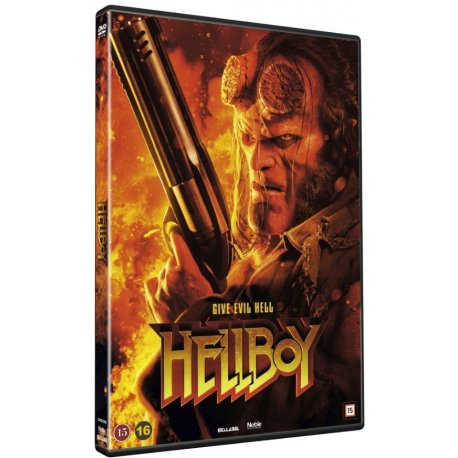 Hellboy :DVD & Bluray