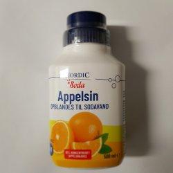 Nordic Soda Smag Appelsin 500ml
