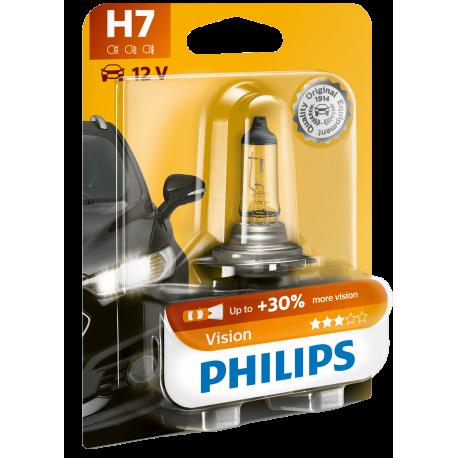 PHI H7 VISION Kfz-Lampe, H7, 1er-Pack, PX26d, Vision