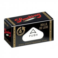 Smoking De Luxe Rolls Sort 4m