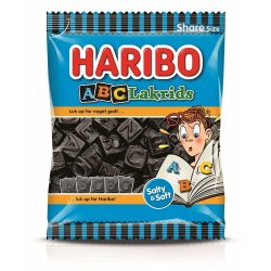 Haribo ABC-Lakrids 120 Gr