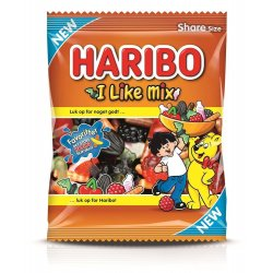 Haribo I Like Mix 120 Gr