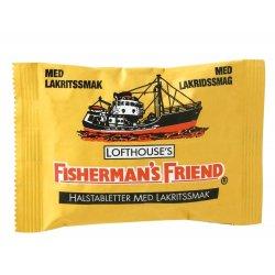 Fishermans Friend Liquorice Halstabletter - Lakrids-smag