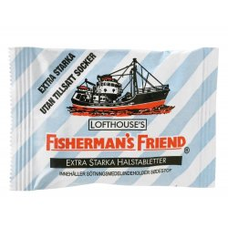 Fishermans Friend Eucalyptus Original Sukkerfri Halstabletter