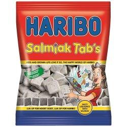 Haribo Salmiak Tabs 120 Gr