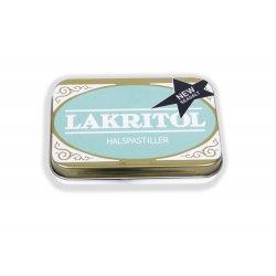 Lakritol Seasalt  Halspastiller i Metaldåse
