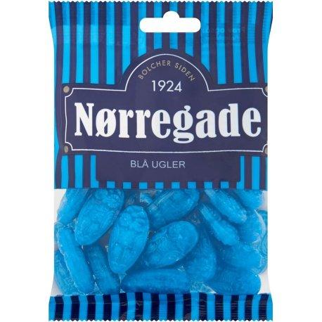Nørregade Blå Ugler 125 gr