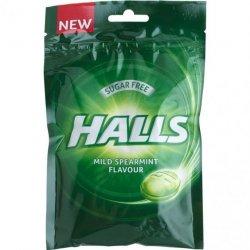 Halls Mild Spearmint Pose 65 gr