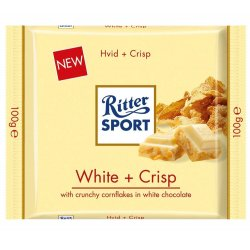 Ritter Sport Hvid Crisp 100gr