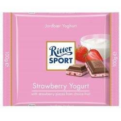 Ritter Sport Jordbær Yoghurt 100gr