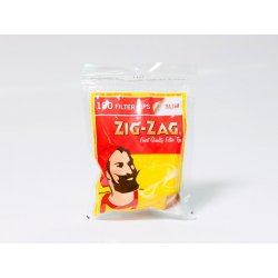 Zig-Zag 6mm Slim Filters 100 stk