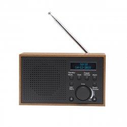 DAB+ radio (alarmFM) Mørkegrå - Denver DAB-46