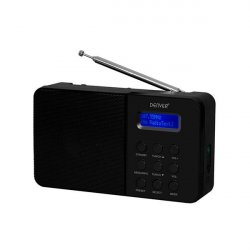 Denver Bærbar DAB+ Radio (Sort)