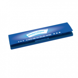 Smokers Choice Super King Size Rolling Papers Blå