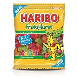 Haribo Fruktilurer FrugtBær 120 gr