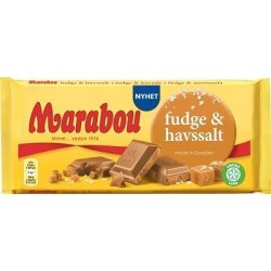 Marabou Fudge & Havsalt 185 gr