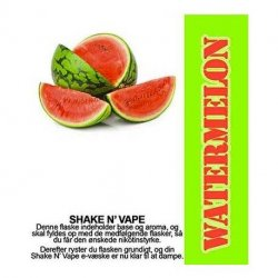 Shake N Vape  Watermelon   30ml.