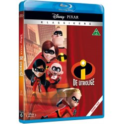 De Utrolige 1 The Incredibles 1 - Disney Pixar - Blu-Ray