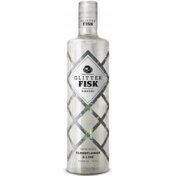 Glitter FISK Diamond Elderflower & Lime Likør 15% 70 cl