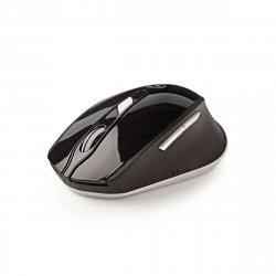 Trådløs mus 1600 dpi (6 knapper ) Sort/Hvid