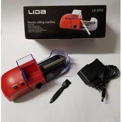 Lida Elektrisk Cigaret Rullemaskine Rød