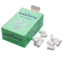 Mascotte Standard Cigarette Filter Tips 8mm Dispenser Box