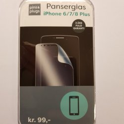 P&P Panserglas Iphone 6-7-8+