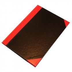 Kinabog A4, linjeret, sort