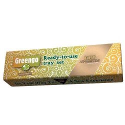Greengo-FLY Tray Set 1 stk Brown Silk