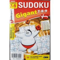 Sudoku Gigant 7 - 8 - 9