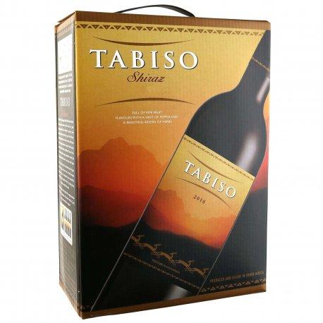Tabiso Shiraz - Rødvin - Sydafrika - 3 liter - Bag in box
