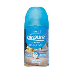 AirPure Refill til Freshmatic Spray 250 ml  Duft af Frisk Vasketøj