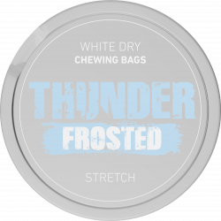 Thunder Frosted Stretch White
