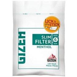Gizeh Slim Filters Menthol