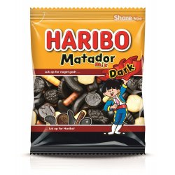Haribo Matador Dark Mix 120 gr