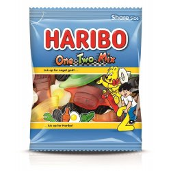 Haribo OneTwo Mix 120 gr