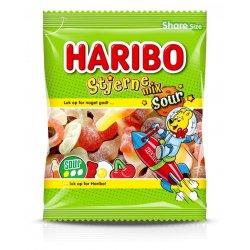 Haribo Stjerne Mix Sour 120 gr