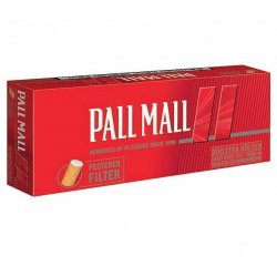 Pall Mall Røde Xtra  200 stk. Pakke