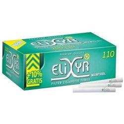 Elixyr Menthol Filterrør 100 stk
