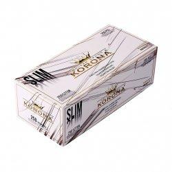 Korona Slim White Filterrør 250 stk