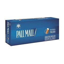 Pall Mall Blå  Xtra  200 stk. Pakke Filterrør