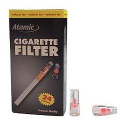 Atomic cigaretfiltre - reducerer tjære - 24 stk