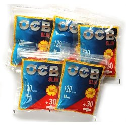 OCB Slim Cigarette Filter tips