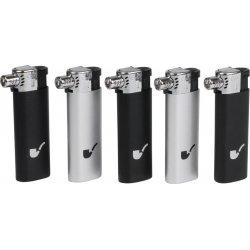 COOL Genopladelig Pibe Lighter sort / sølv