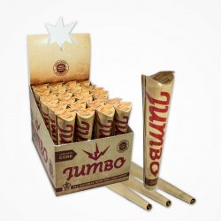 Jumbo Natrual Ublegede Cones